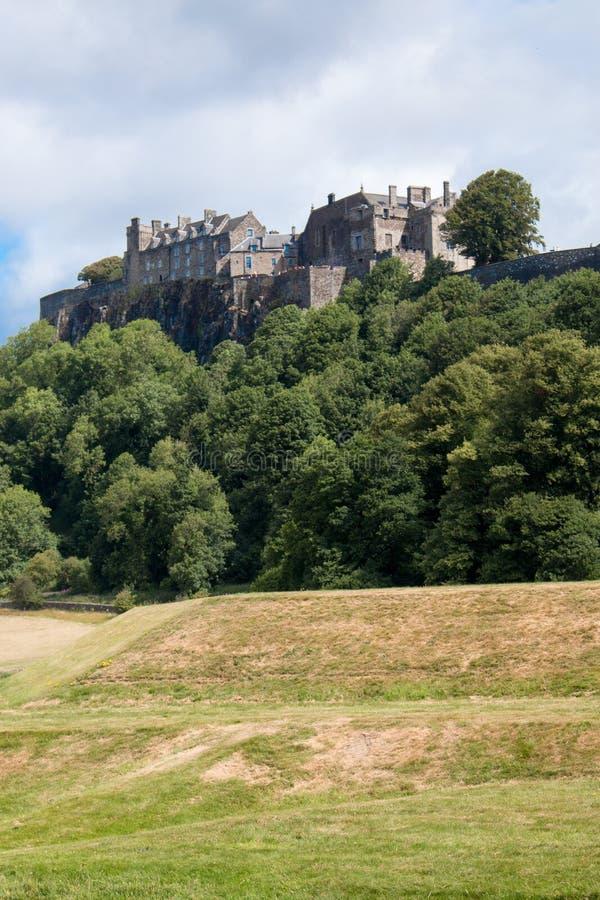 Stirling Castle is één van de grootste en belangrijkste kastelen in Schotland Schotland het Verenigd Koninkrijk Europa royalty-vrije stock afbeelding