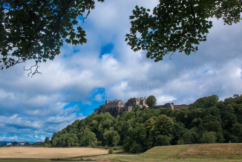 Stirling Castle is één van de grootste en belangrijkste kastelen in Schotland Schotland het Verenigd Koninkrijk Europa stock fotografie