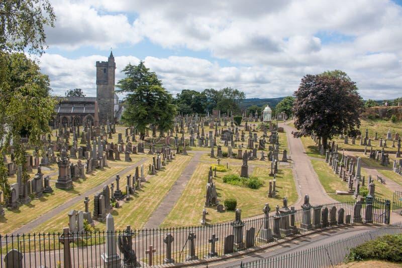 Stirling Castle is één van de grootste en belangrijkste kastelen in Schotland Schotland het Verenigd Koninkrijk Europa stock foto
