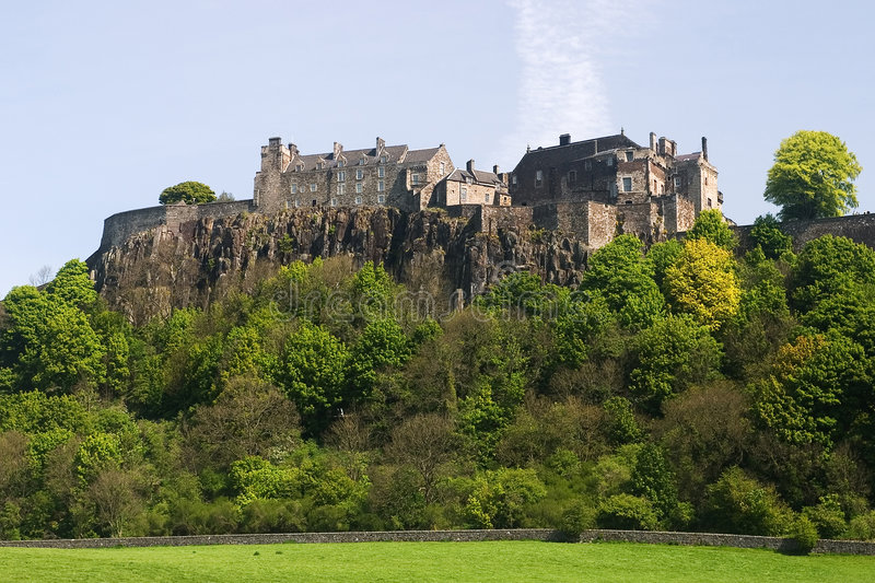 Stirling Castle royalty free stock image
