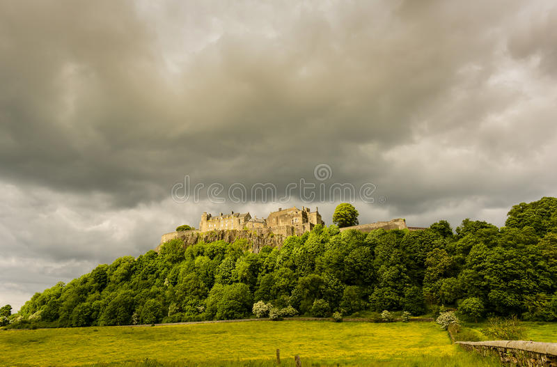 Stirling Castle royaltyfri foto