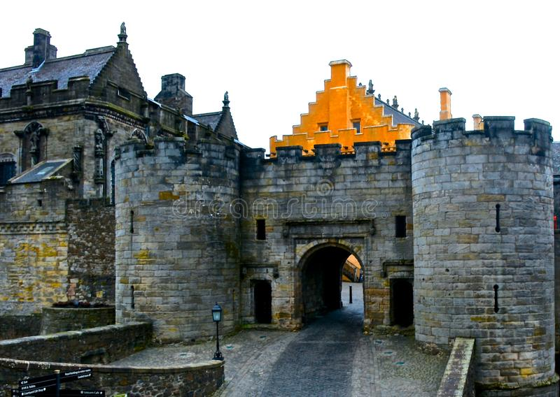 Stirling Castle stockbilder