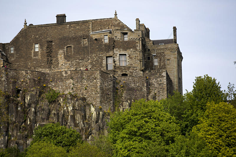 Stirling Castle fotografia stock