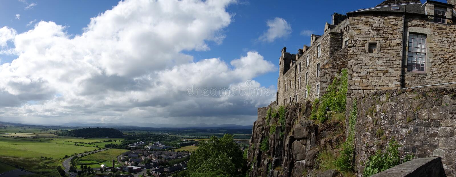 Stirling Castle, Escócia fotografia de stock