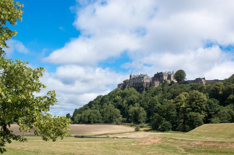 Stirling Castle is one of the largest and most important castles in Scotland scotland united kingdom europe. Stirling Castle, located in Stirling, is one of the stock images