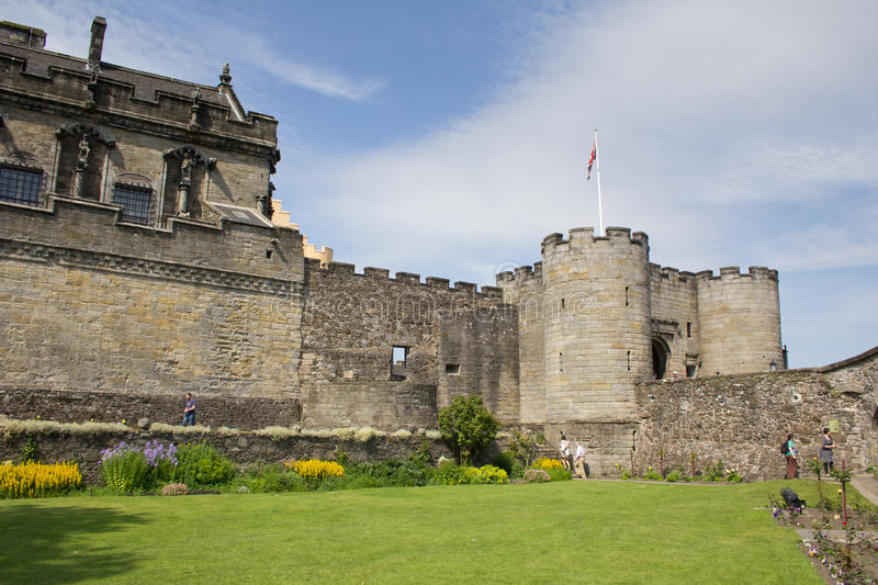 Download Stirling Castle editorial stock image. Image of europe - 33207459