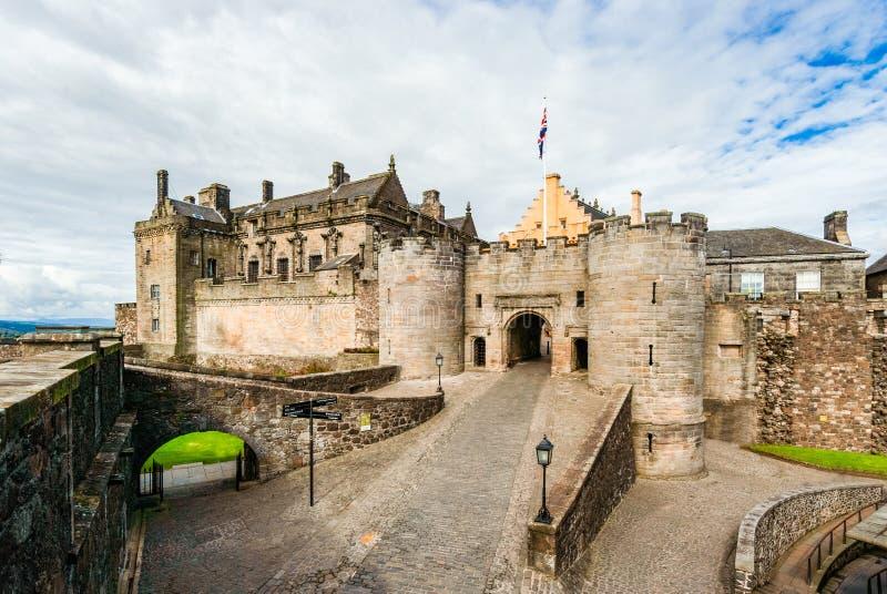 Stirling Castle - Stirling - Schottland lizenzfreie stockfotos