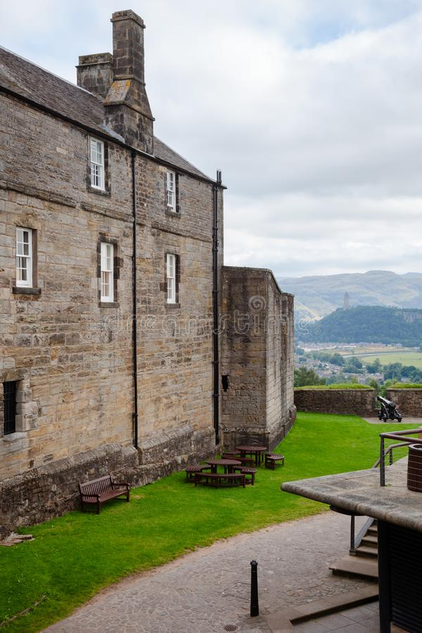 Stirling Castle Scotland Reino Unido fotografia de stock