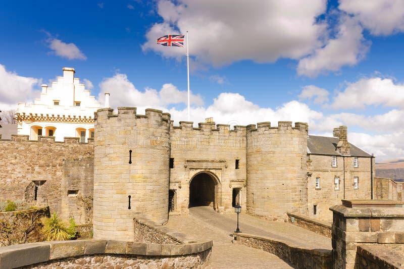Stirling kasztel zdjęcie royalty free