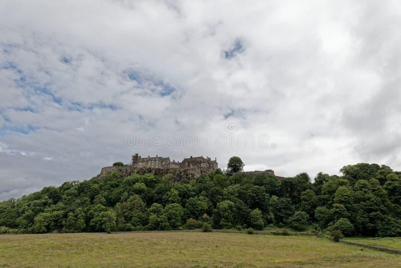 Stirling kasztel, Szkocja obrazy stock