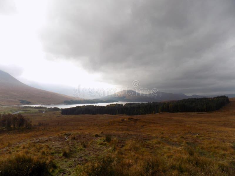 Stirling landskapmidmorning arkivbilder