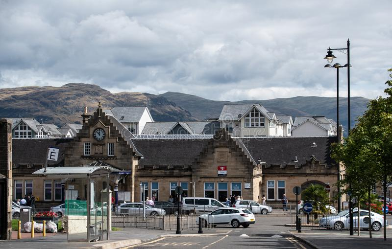 Stirling Railway Station stock photography