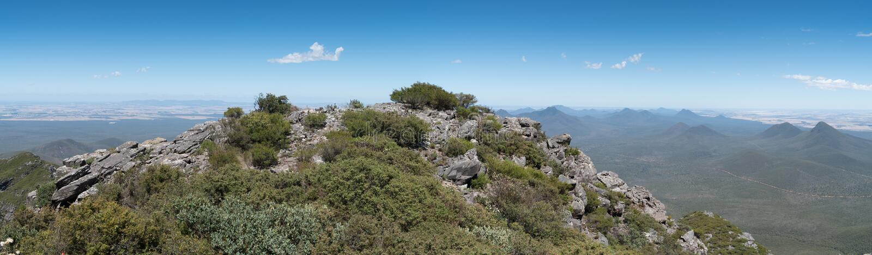 Stirling Range National Park, Australie occidentale images libres de droits