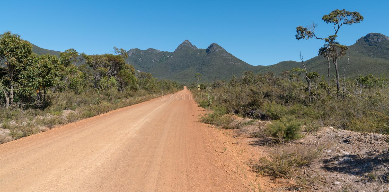 Stirling Range National Park, Australie occidentale image libre de droits
