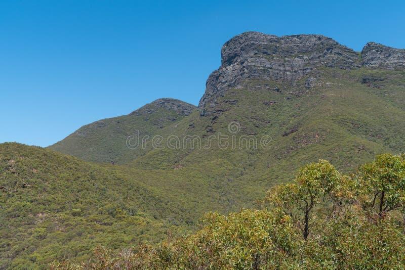 Stirling Range National Park, Western Australia. Bluff Knoll, highest mountain of the Stirling Range National Park close to Mount Barker, Western Australia stock image