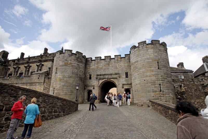 Stirling-Schloss lizenzfreie stockbilder