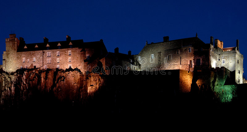 Stirling-Schloss stockfoto