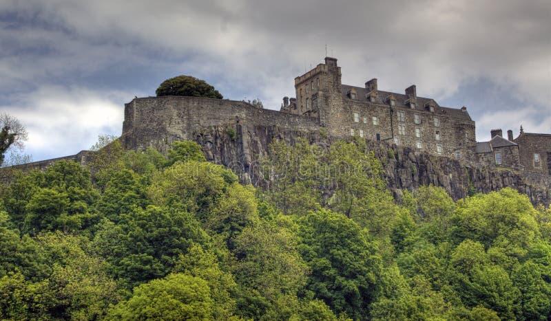 Stirling-Schloss stockfotos