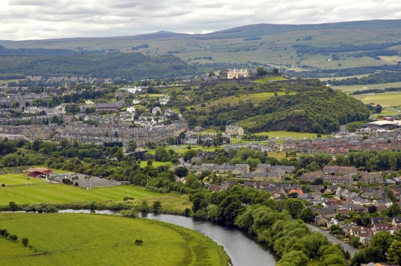 Stirling (Schotland) stock afbeelding