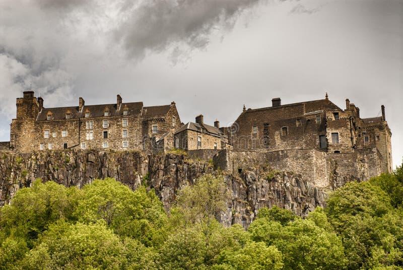Stirling slott royaltyfria foton