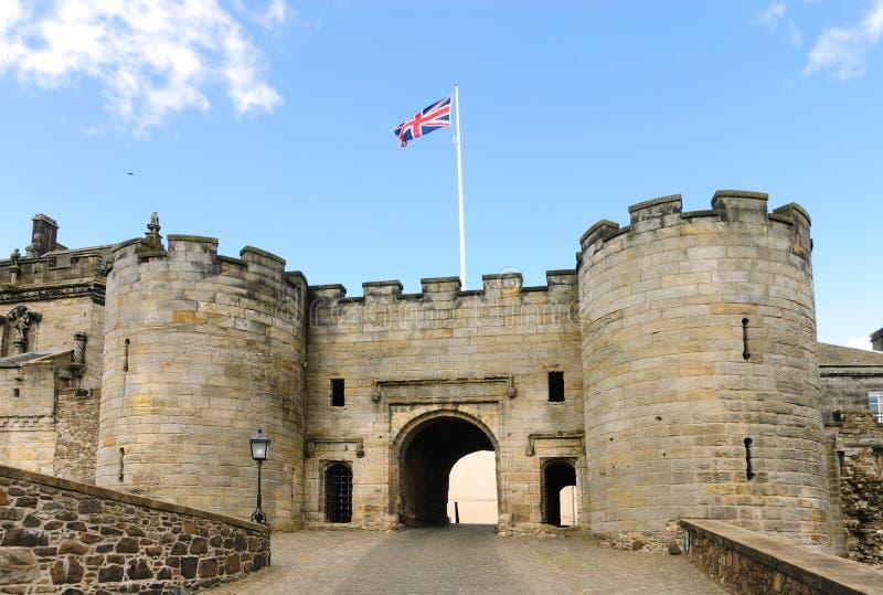 Stirling slott arkivbild