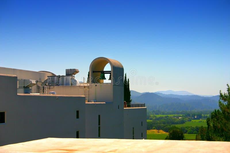 Stirling Vineyard, Sonoma and Napa Valley, California stock photo