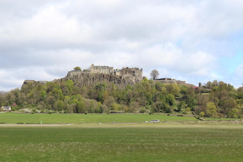 Stirlings-Schloss, West-Schottland lizenzfreie stockfotos