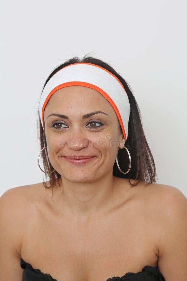 Stirnband-Frauen lizenzfreie stockfotos