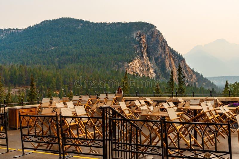 Stirra på den kanadensiska Rocky Mountains arkivfoto