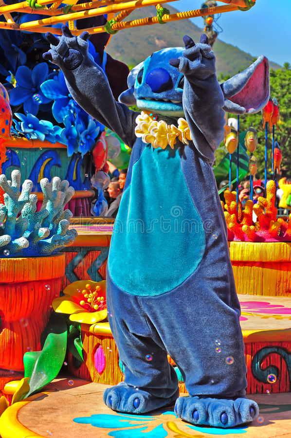 Download Stitch at disney parade editorial stock image. Image of asia - 22520024