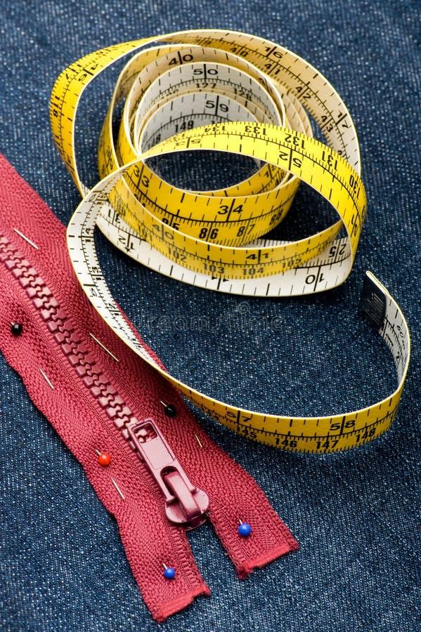 Download Stitch zipper on jeans stock image. Image of macro, seam - 18588211