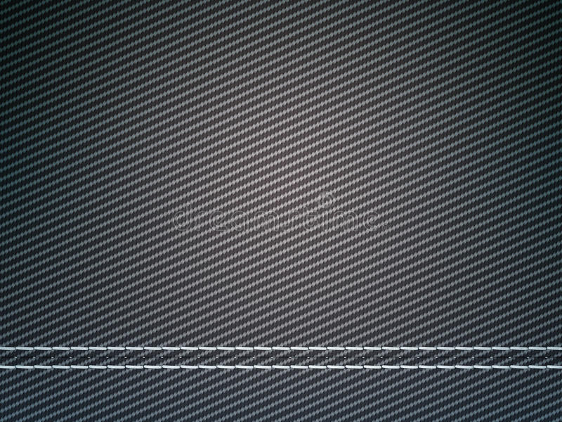 Download Stitched Carbon Fiber: Useful As Texture Royalty Free Stock Photography - Image: 19188087