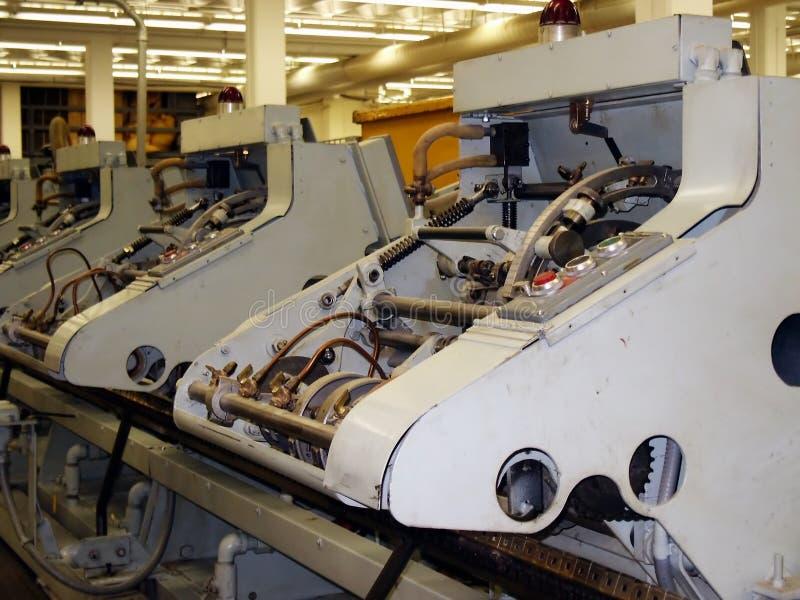 Stitching machines royalty free stock photos