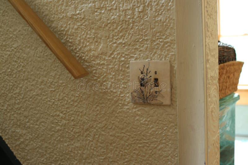 Stiuk ściana obrazy royalty free