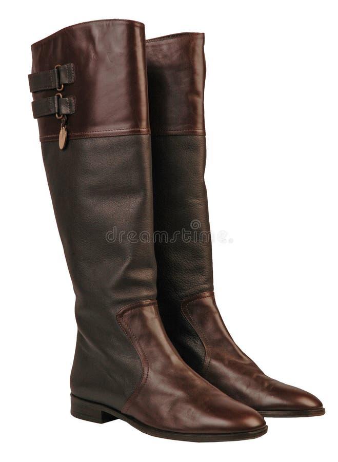 Stivali di modo immagine stock