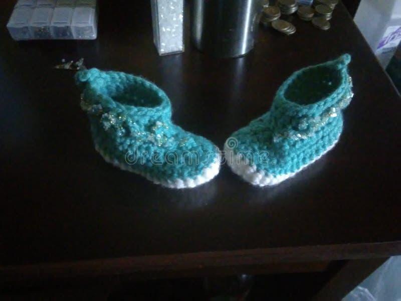 Stivali per bambini fotografia stock