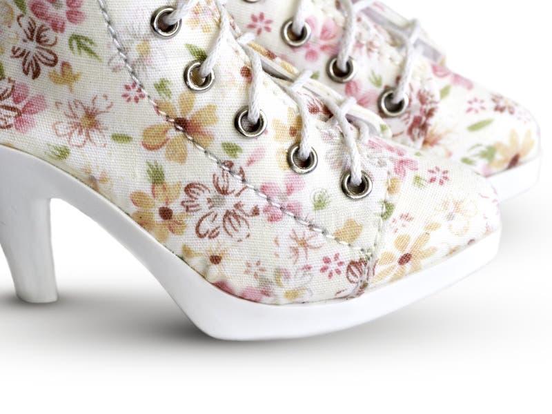 Stivali vittoriani di stile immagine stock libera da diritti