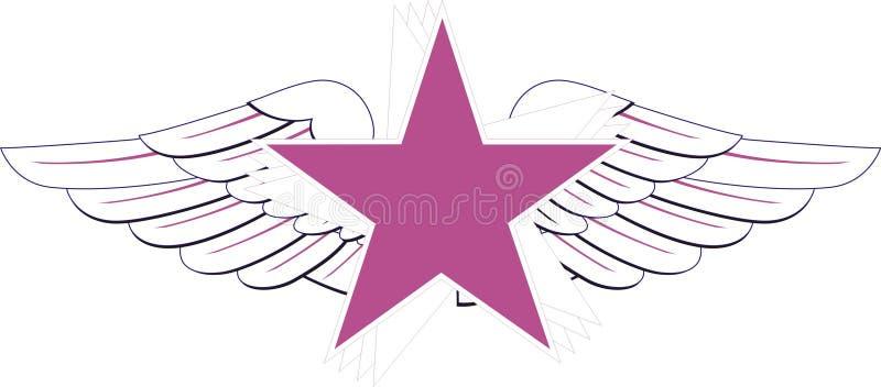 stjärna royaltyfri illustrationer