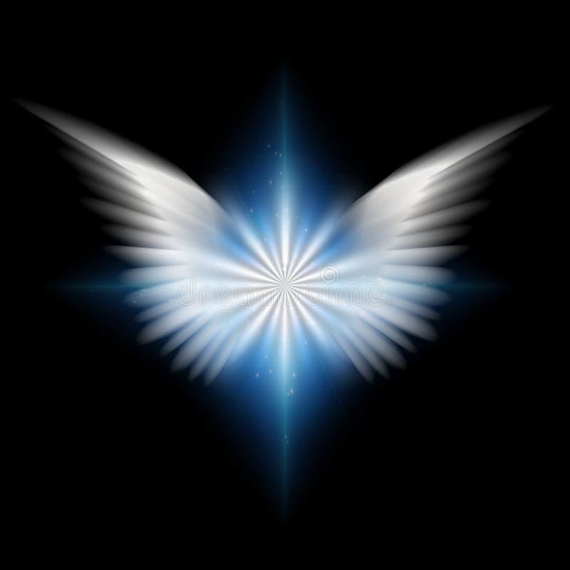 Stjärna för ängel` s stock illustrationer