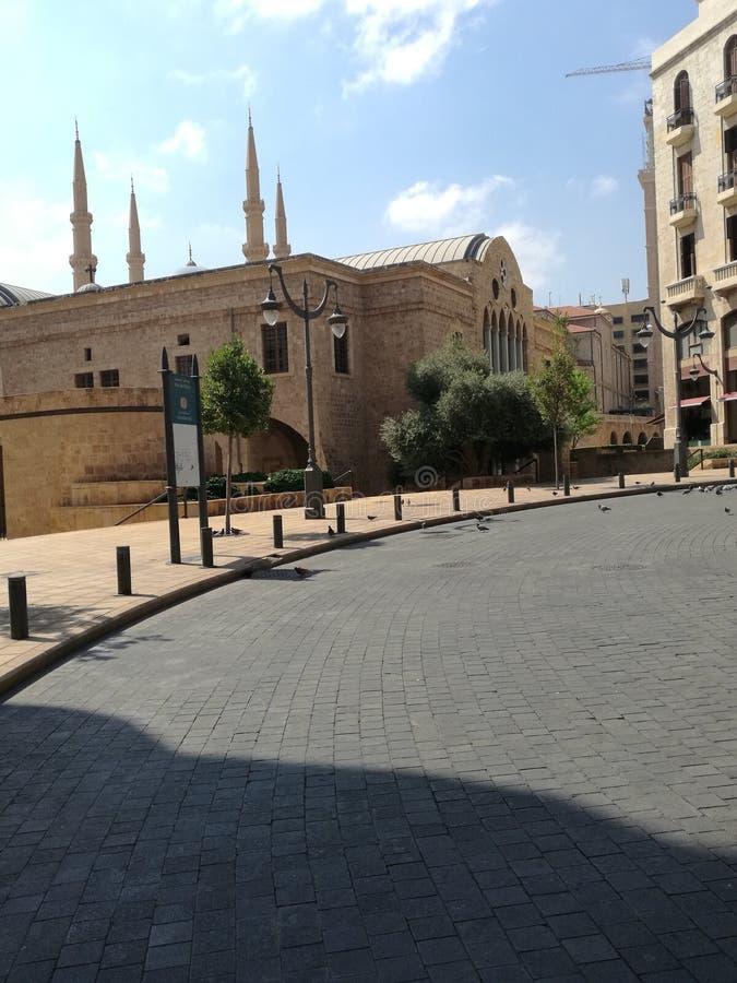 stjärna fyrkantiga Beirut arkivfoton