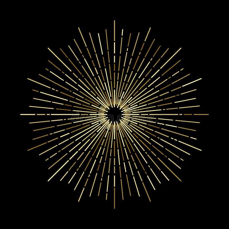 Stjärnabristning royaltyfri illustrationer