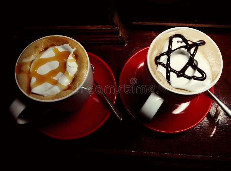 stjärnakaffe arkivfoton