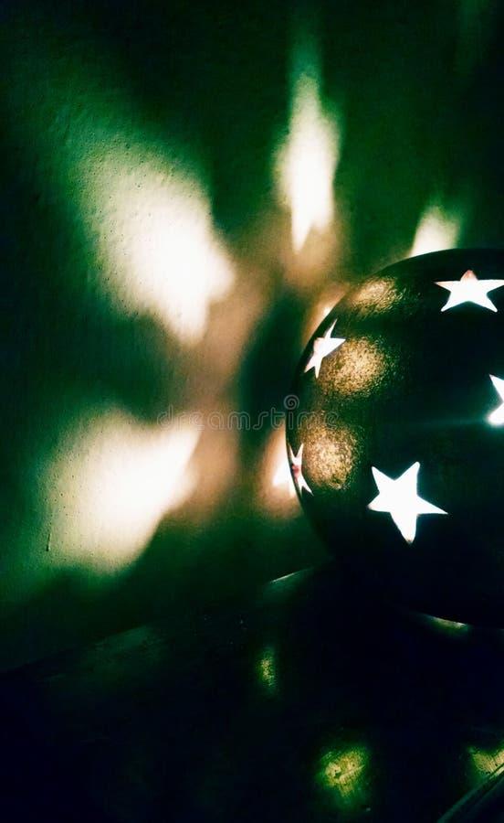 Stjärnaljus arkivbilder