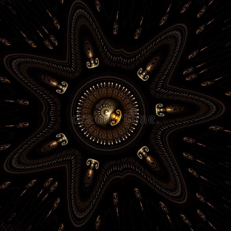 stjärnaskatt vektor illustrationer