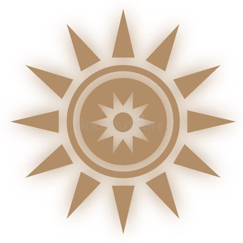 Stjärnasymbolssymbool Glansig stjärna formade rengöringsdukklistermärkear Beståndsdelstil för chakrameditation vektor illustrationer