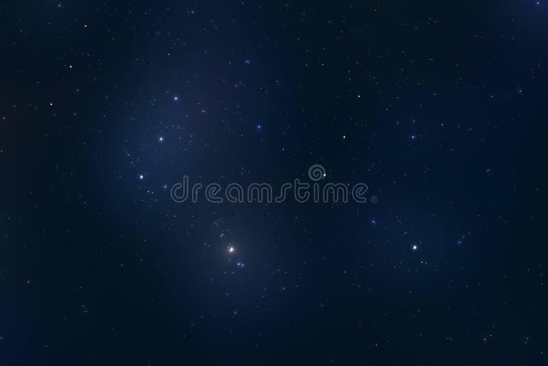 stjärnauniversum fotografering för bildbyråer