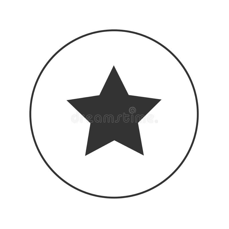 Stjärnawepsymbol stock illustrationer