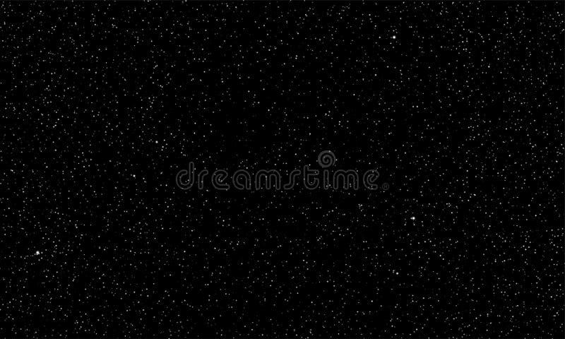 Stjärnklar bakgrund för utrymme för sken för himmelvektorstjärnor vektor illustrationer