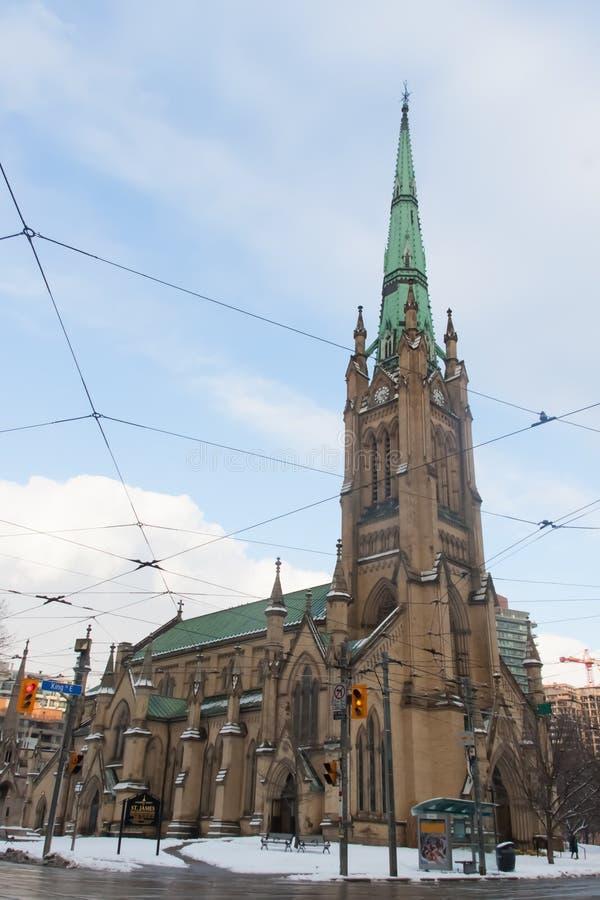 StJames-Kirche, Toronto, Kanada stockfoto