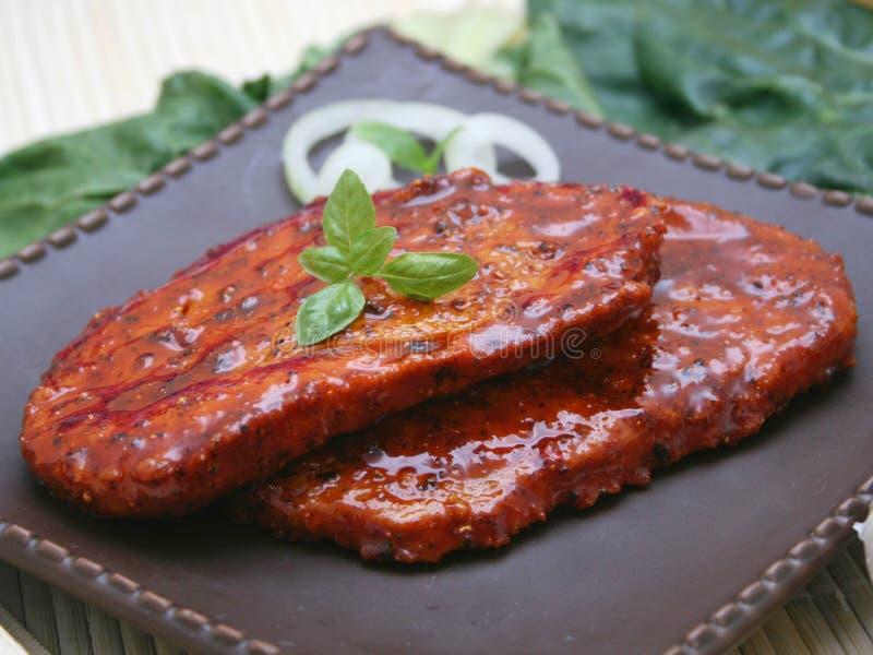 Stki minced mięso zdjęcie stock